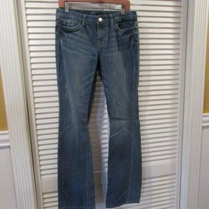 Mossimo Curvy Boot Cut Blue Denim Jeans size 8 L